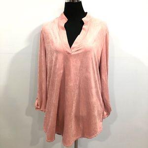 Tops - Mandarin collar tunic